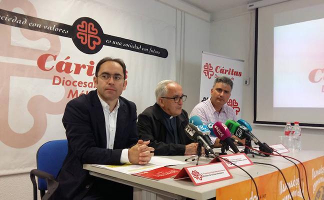 Desciende levemente el número de familias atendidas por Cáritas en Málaga