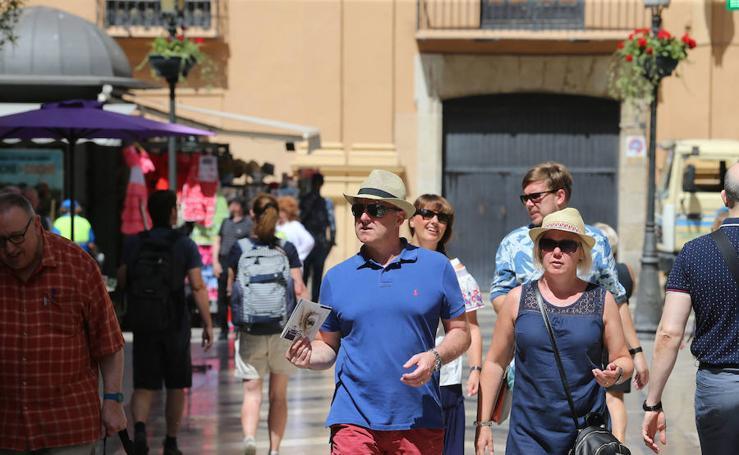 Málaga vive una jornada de altas temperaturas