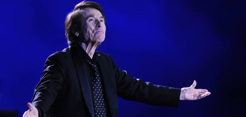 Raphael cancela algunos conciertos por una laringitis
