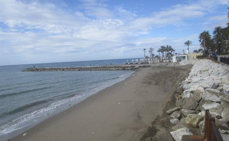 El antes y después de las playas de Málaga