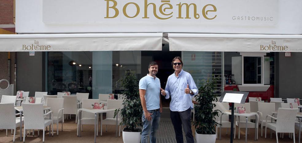 La restauración renace en La Malagueta con La Bohéme y la vuelta de Café de París