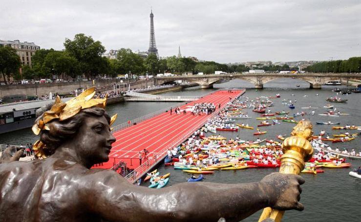 París presenta su candidatura para los Juegos Olímpicos 2024