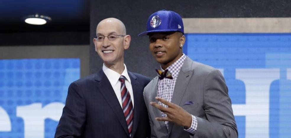 Markelle Fultz se corona en el 'draft' de los bases