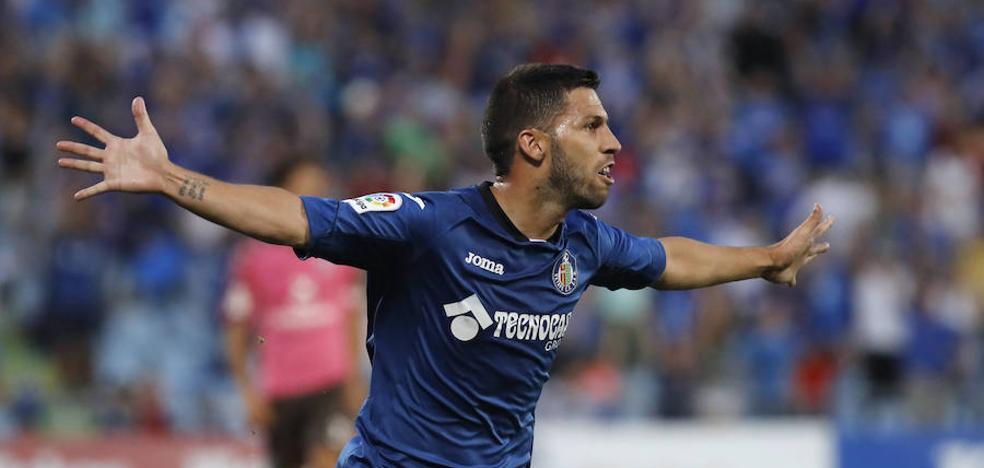 Dos goles del malagueño Dani Pacheco dan el ascenso al Getafe