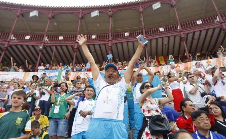 Inauguración de los XXI Juegos Mundiales de Trasplantados en Málaga