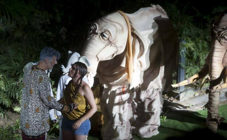 Fotos del musical 'El espíritu de la selva' en el Jardín de la Concepción