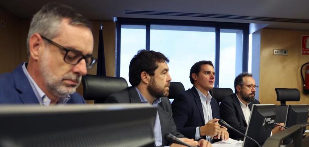 Ciudadanos rechaza el espacio de diálogo con PSOE y Podemos que propone Sánchez