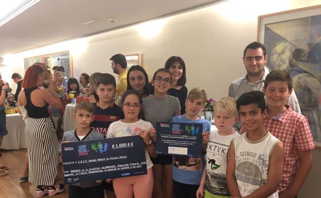 Premio por partida doble para el CEIP Rafael Alberti de Almogía