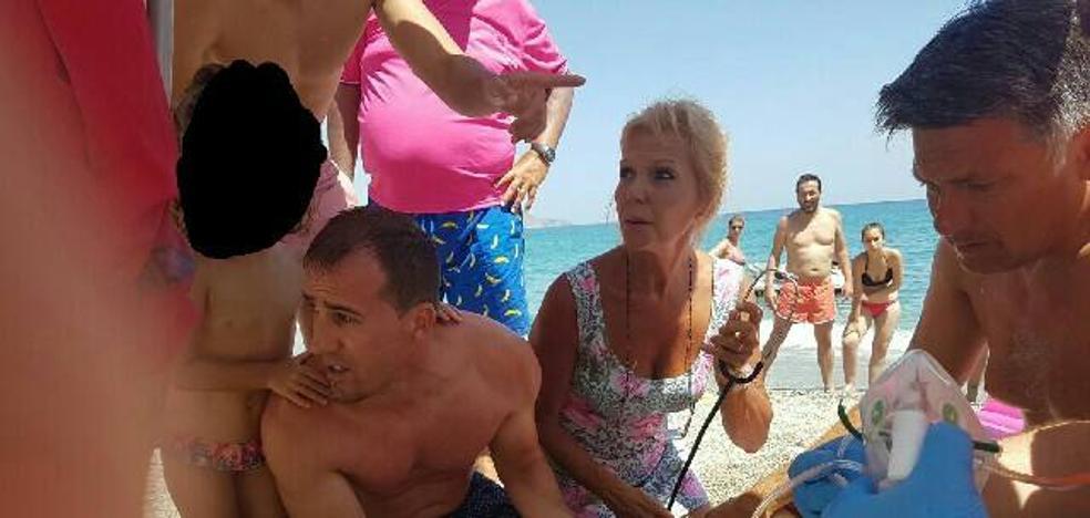 «Si no es porque escuchamos sus gritos, esa mujer se hubiese ahogado»