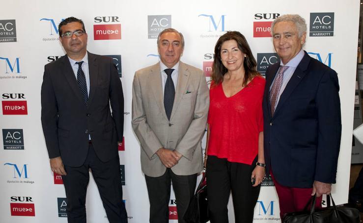 Los invitados al foro Lidera Málaga