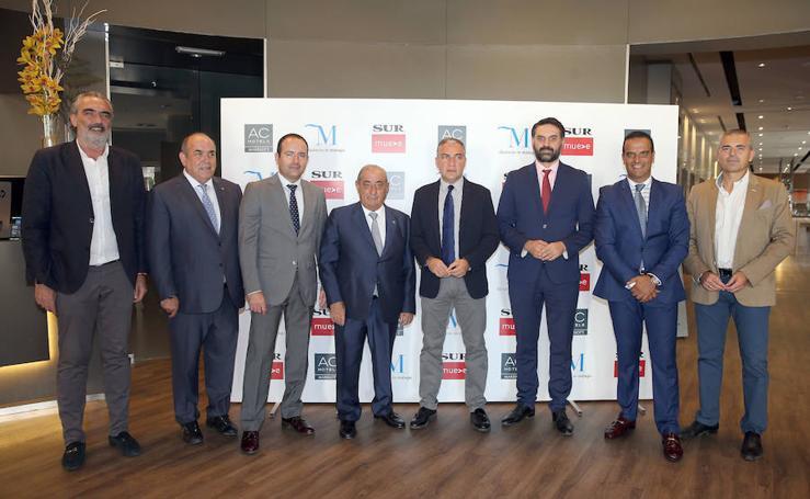 Fotos del foro Lidera Málaga, con el presidente de Globalia Juan José Hidalgo
