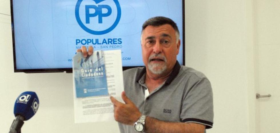El PP asegura que el tripartito falsea datos en relación con la transparencia