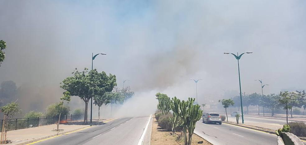 Declarado un incendio en Puerto de la Torre