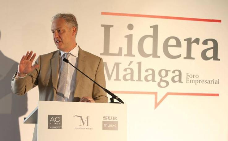 El embajador británico, en el Foro Lidera