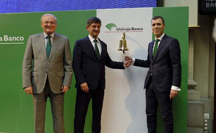 Unicaja Banco debuta este viernes en Bolsa