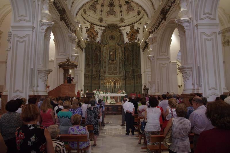 La iglesia de Santiago abre sus puertas tras un año y medio de obras