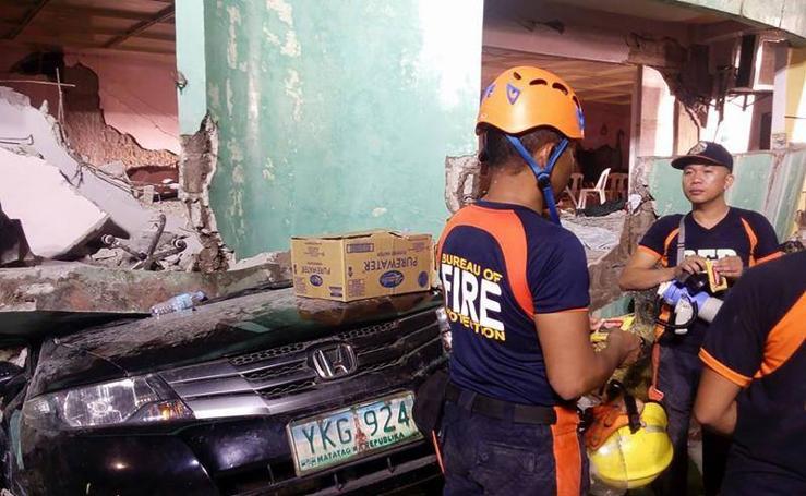 Un terremoto de 6'5 grados de magnitud afecta a la ciudad de Kananga, Filipinas