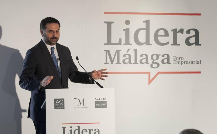 El consejero de Turismo, nuevo protagonista del foro Lidera Málaga