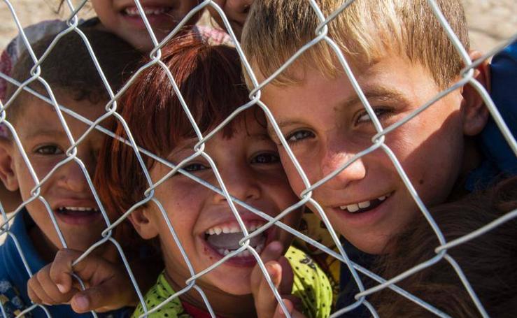 El rostro infantil de la liberación de Mosul
