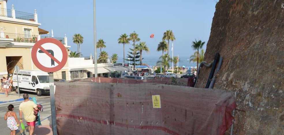 PSOE y Ciudadanos exigen al Gobierno la reanudación de las obras de la depuradora de Nerja