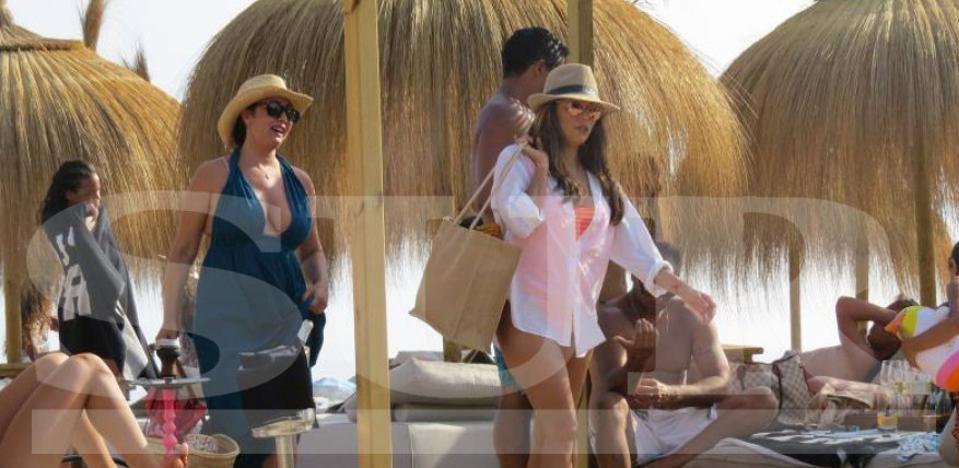 Longoria disfruta ya del verano de Marbella