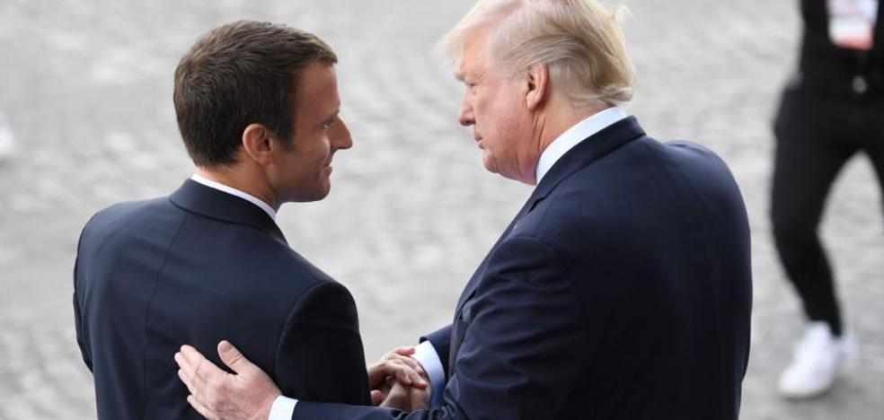 Macron, junto a Trump: «Nada nos separará jamás de EE UU»