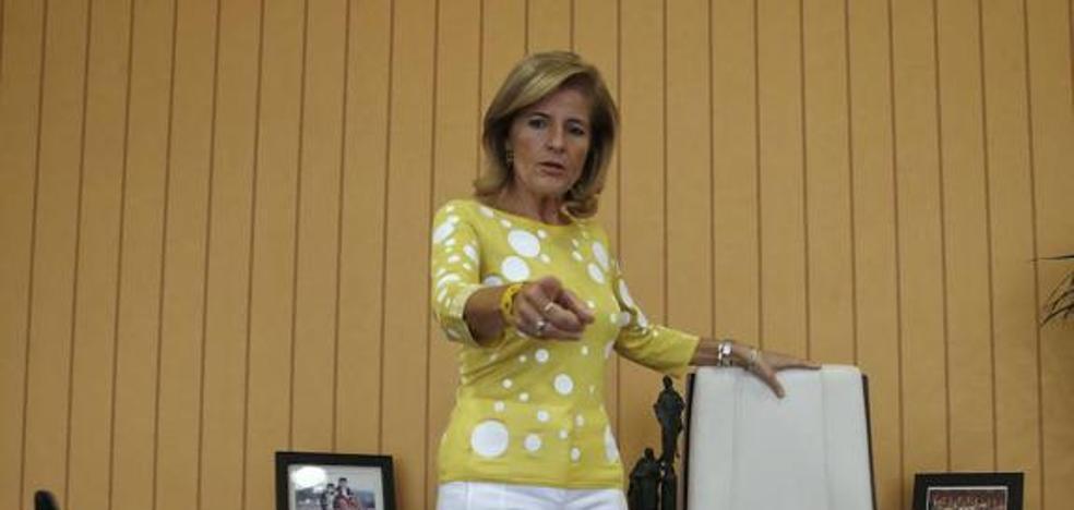 Esperanza Oña opta a la reelección como presidenta del PP de Fuengirola