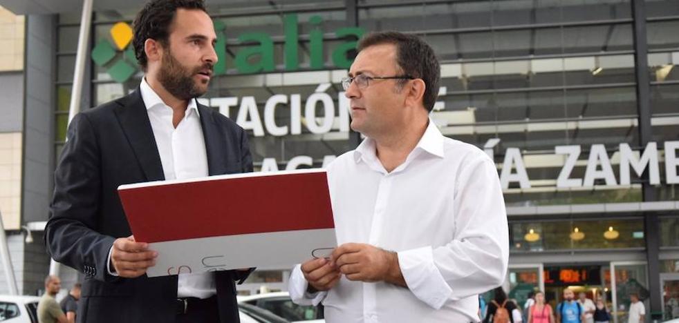 El PSOE, a todo tren contra el proyecto del 'by pass' del Gobierno