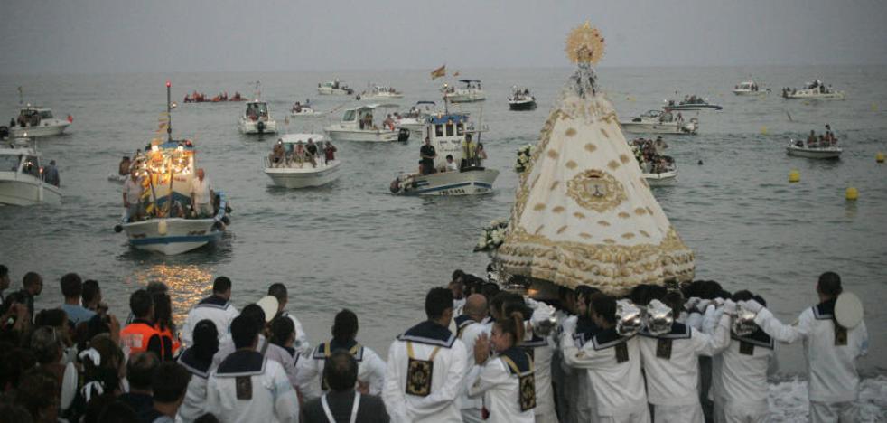 La Diputación declarará la procesión del Carmen de La Carihuela en Torremolinos Fiesta de Singularidad Turística
