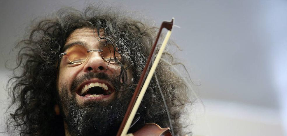 Ara Malikian: «Mi pelo es un poco salvaje y yo lo trato como tal»