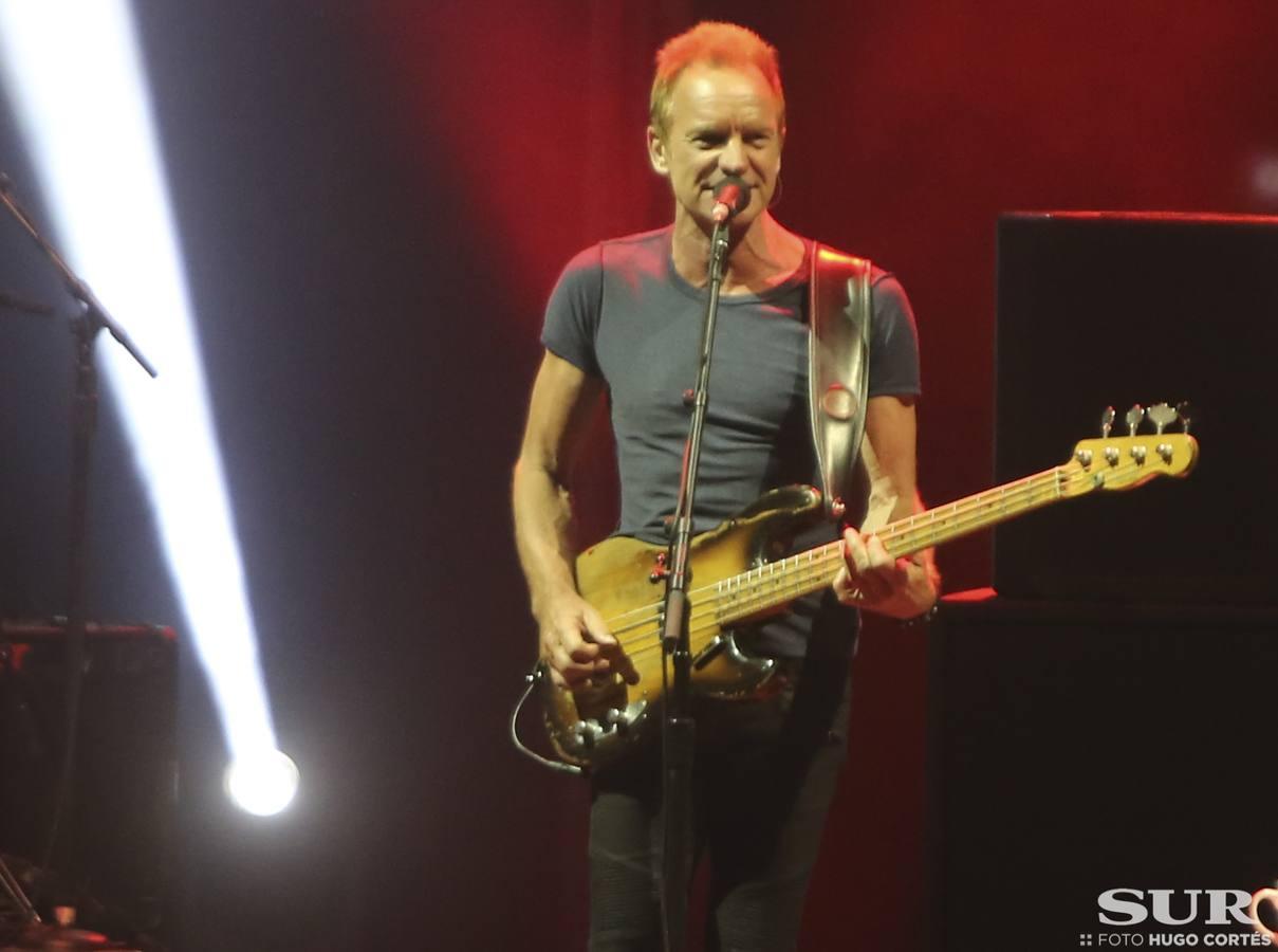 Sting, en concierto en Fuengirola