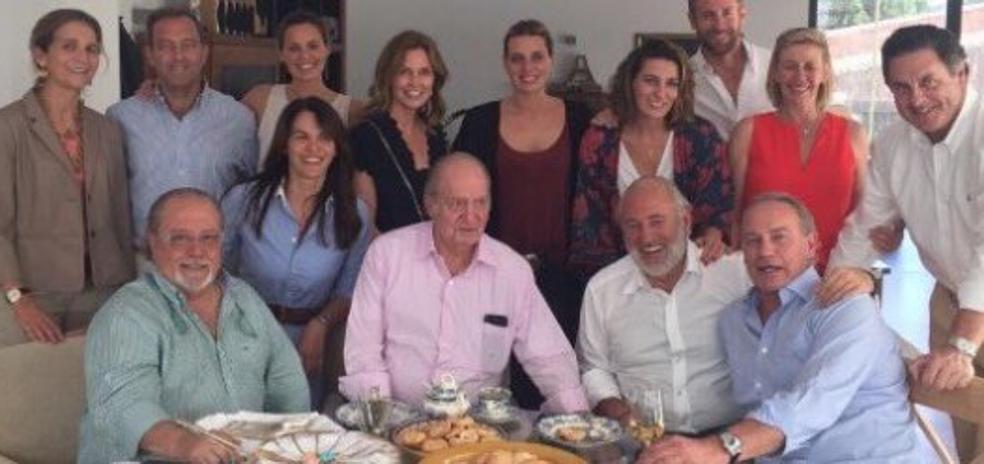 La paella de Bertín con don Juan Carlos