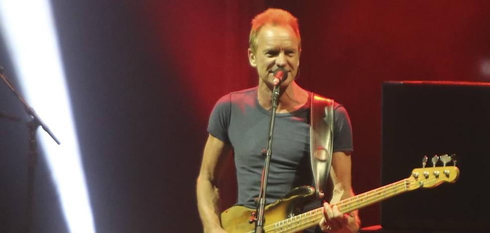 Sting ofrece un vibrante viaje por su historia