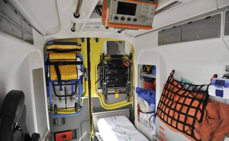 Dos nuevas UVI móviles del 061 de Emergencias Sanitarias