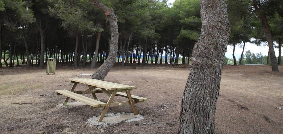 El campamento Benítez abre como parque este sábado