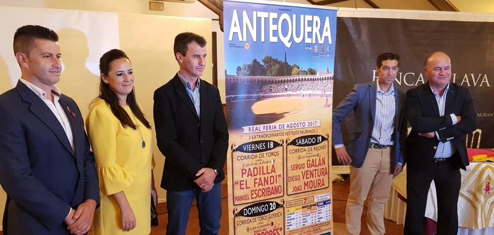 Ventura como reclamo del rejoneo y goyesca despedida de Paquirri en la feria de Antequera