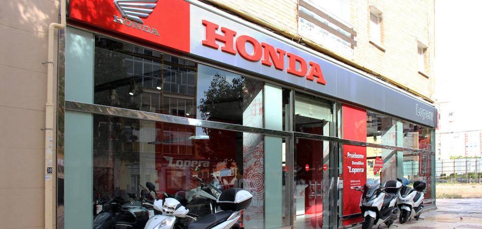 Las ventas de motos Honda siguen creciendo en Málaga