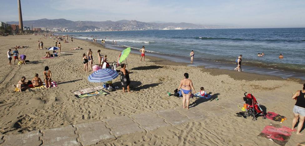 Muere un bañista ahogado en la playa de la Misericordia