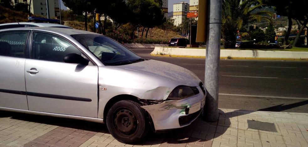 Hallan 120 kilos de hachís en un coche tras una persecución por las calles de La Palmilla