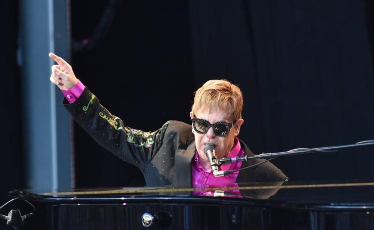 Sir Elton John en Starlite Marbella