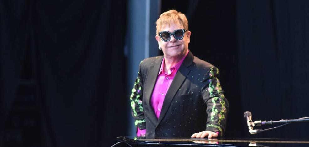 Elton John, reina de corazones en Starlite Marbella