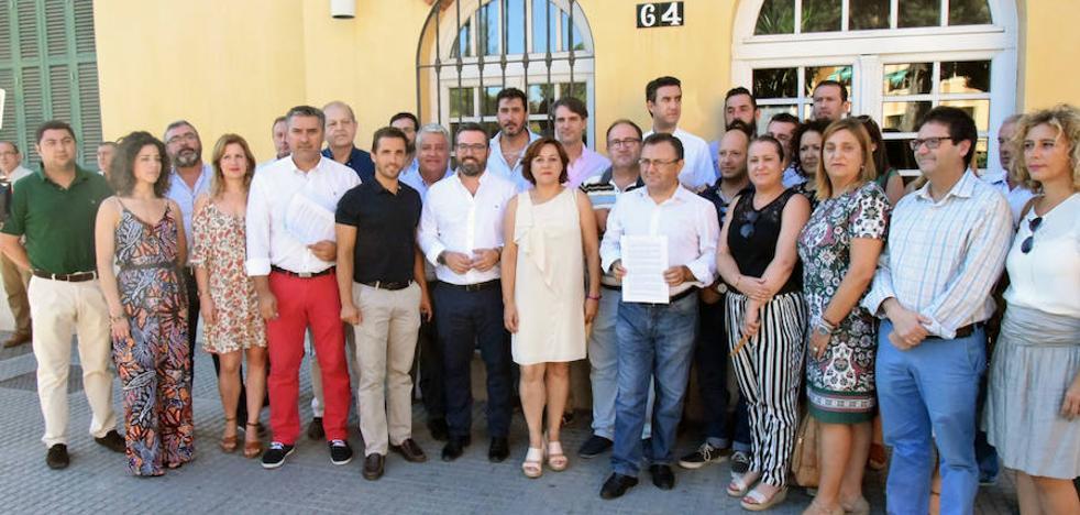 El PSOE denuncia el retraso en el inicio de las obras del PER