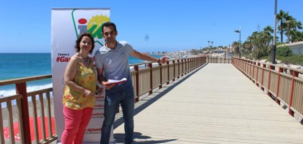 IU exige mantener la pasarela en Coral Beach para garantizar la senda litoral