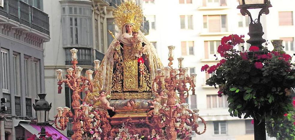 El Perchel, Huelin y la Malagueta celebran sus procesiones de la Virgen del Carmen