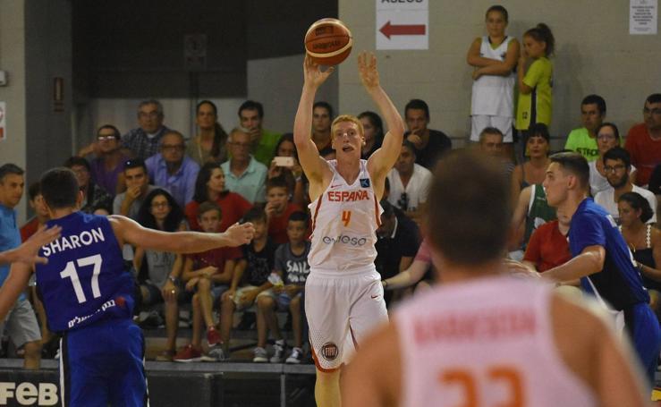 España vence a Israel en el segundo partido en Estepona
