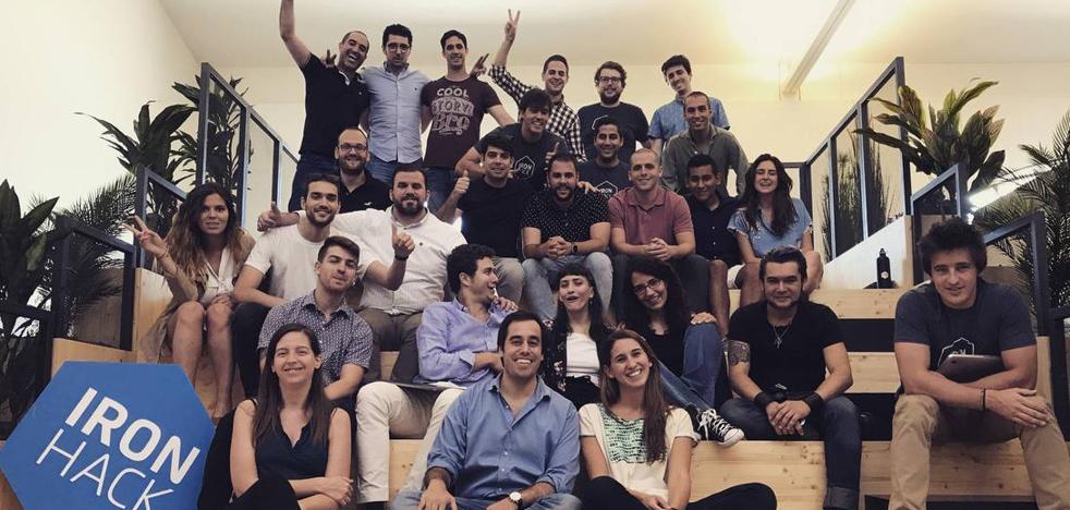 El alma 'malaguita' de Ironhack, la 'startup' que acaba de captar tres millones de dólares