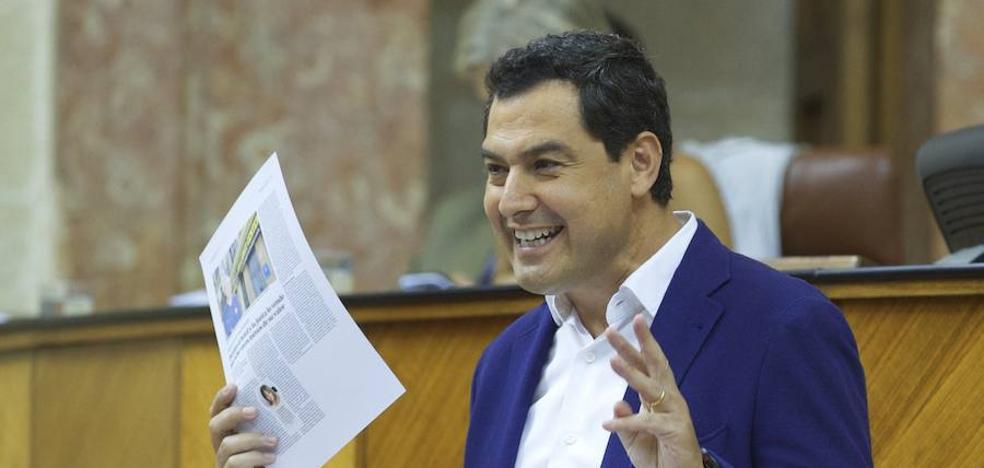 Moreno sobre el impuesto de sucesiones: «O lo quita Susana Díaz o me lo cargo yo»