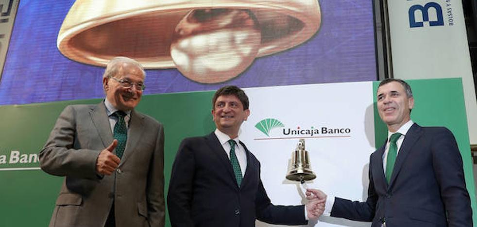 Unicaja Banco capta en total 757 millones de euros con la salida a Bolsa
