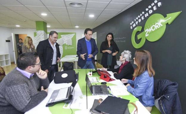 Torremolinos ha habilitado un espacio de 'coworking' en el Palacio de Congresos y Exposiciones.
