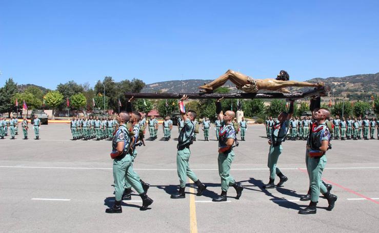 La Legión celebra la festividad de Santiago Apóstol